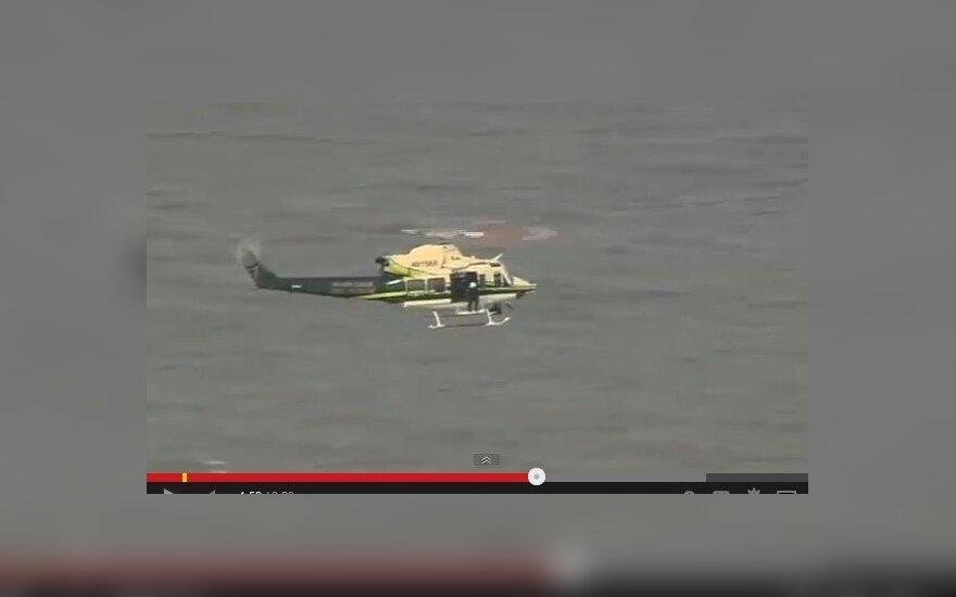 Į vandenyną iš lėktuvo iškrito keleivis