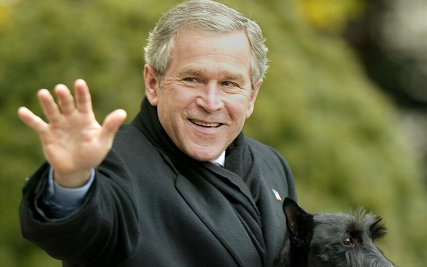 Джорджа Буша предлагают объявить почетным гражданином Вильнюса