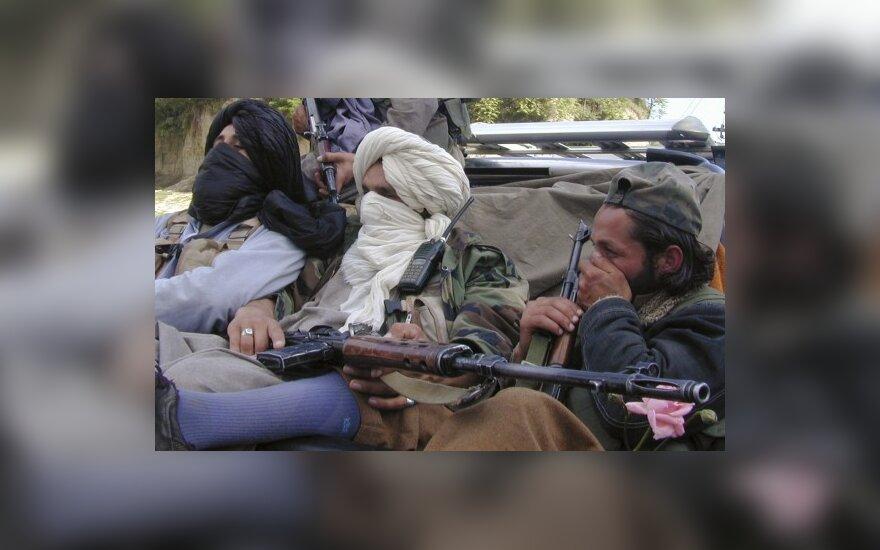 При нападении талибы убили 8 военнослужащих США
