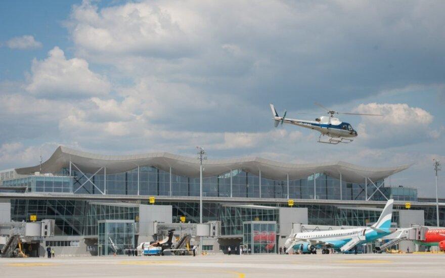 Naujausias Kijevo Borispolio oro uosto terminalas