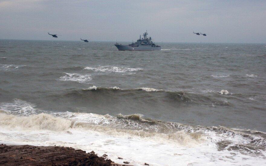 Вблизи латвийской границы обнаружены российские военные корабли