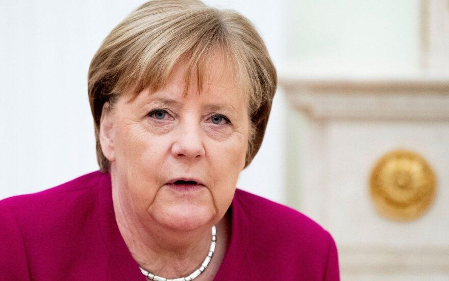 Merkel ir Putino susitikimas