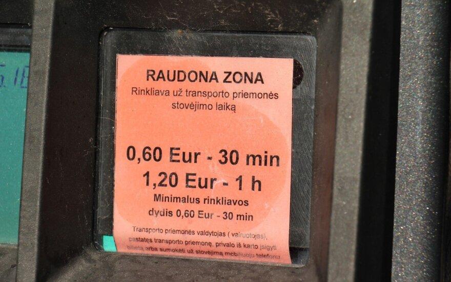 Вильнюсец возмущен стоимостью парковки в Паланге