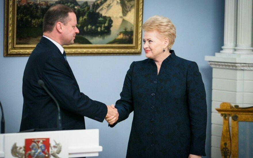 Президент предложила кандидатуру Сквернялиса на пост премьер-министра Литвы