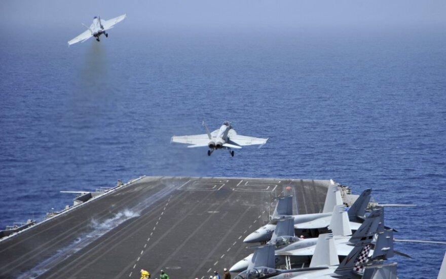 """JAV lėktuvnešis """"Enterprise"""""""