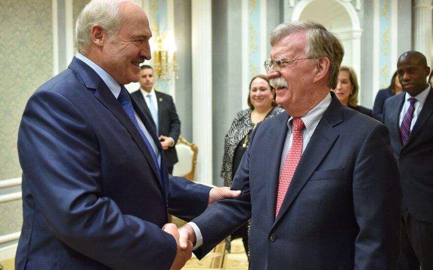Aliaksandras Lukašenka, Johnas Boltonas