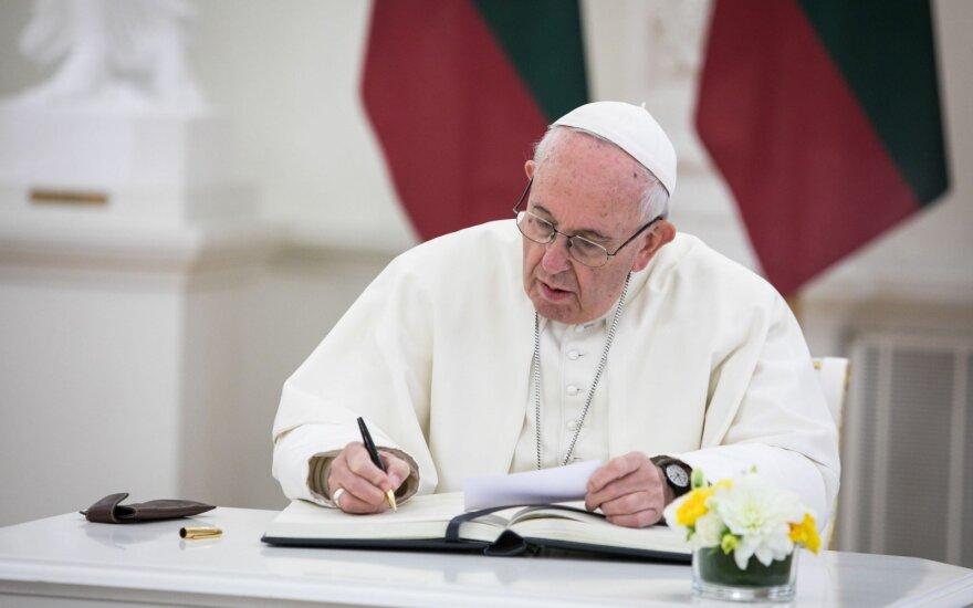 Папа может попросить Литву о солидарности в вопросе беженцев