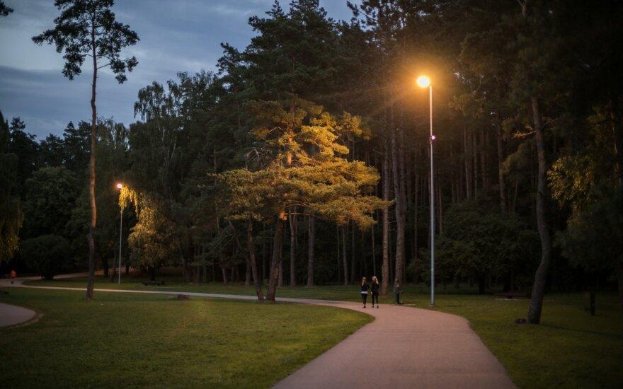 Atnaujinamas Vingio parkas