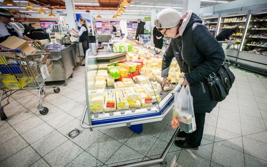 Жители Литвы жалуются на высокие цены, хотя тратят намного меньше, чем немцы