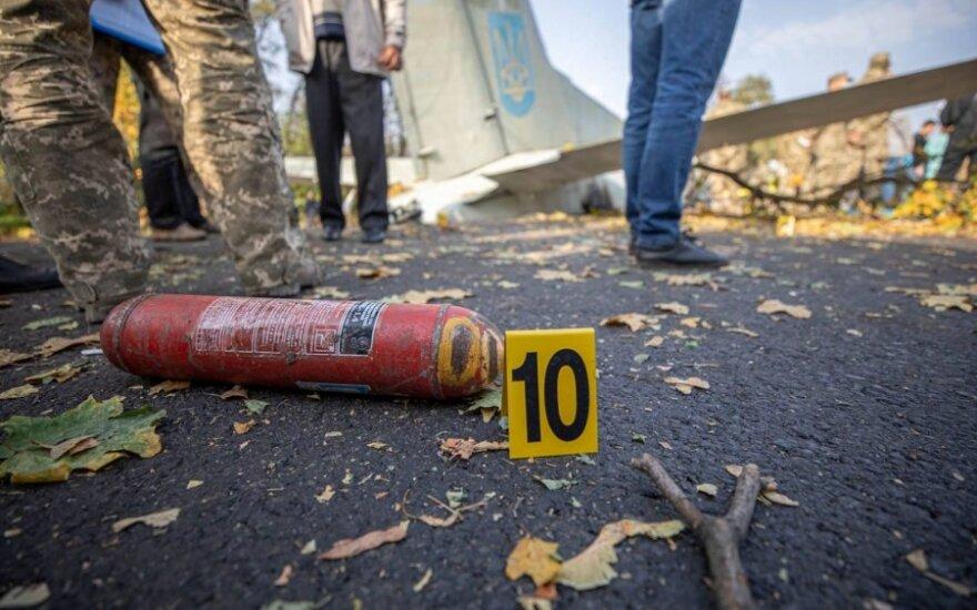 Lėktuvo avarija Ukrainoje