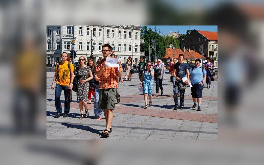 В столице Литвы – акция массового отказа от католичества