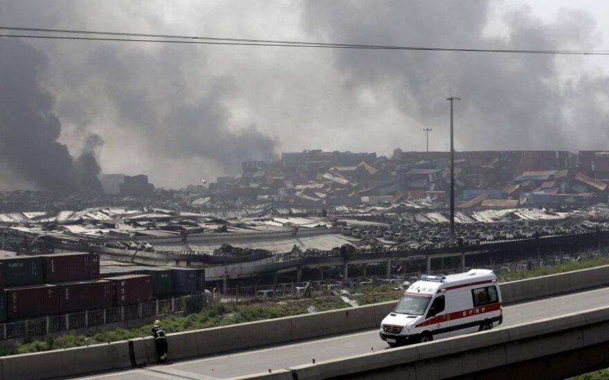 Число жертв взрыва в Тяньцзине превысило 100 человек