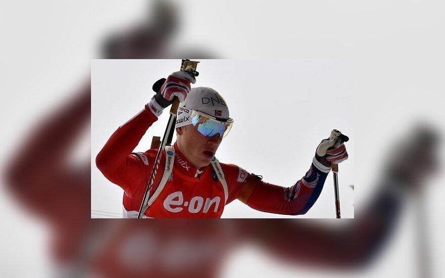 Бо выиграл масс-старт, Фуркад стал мировым рекордсменом