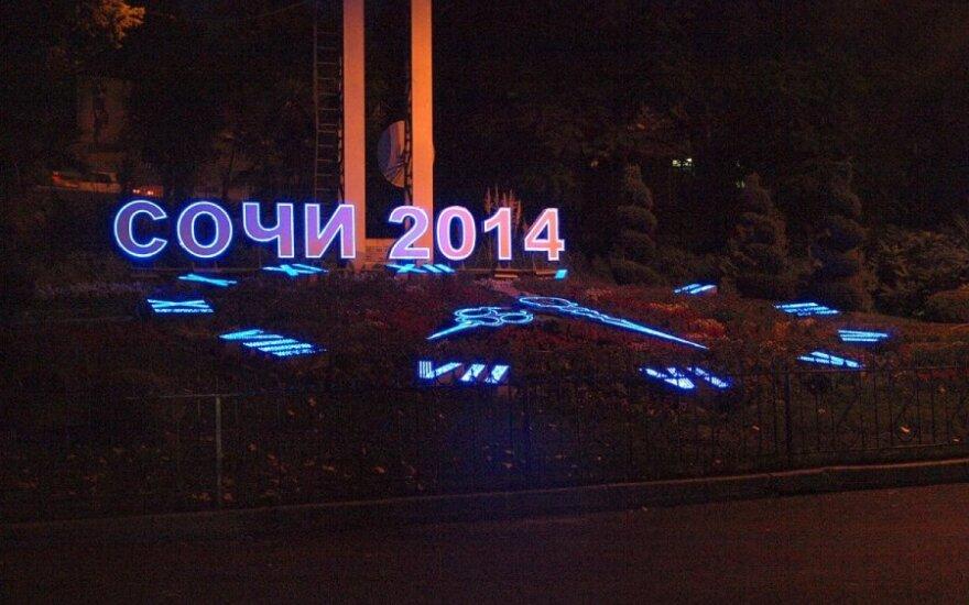 Soči rengiasi 2014 metų žiemos olimpiadai