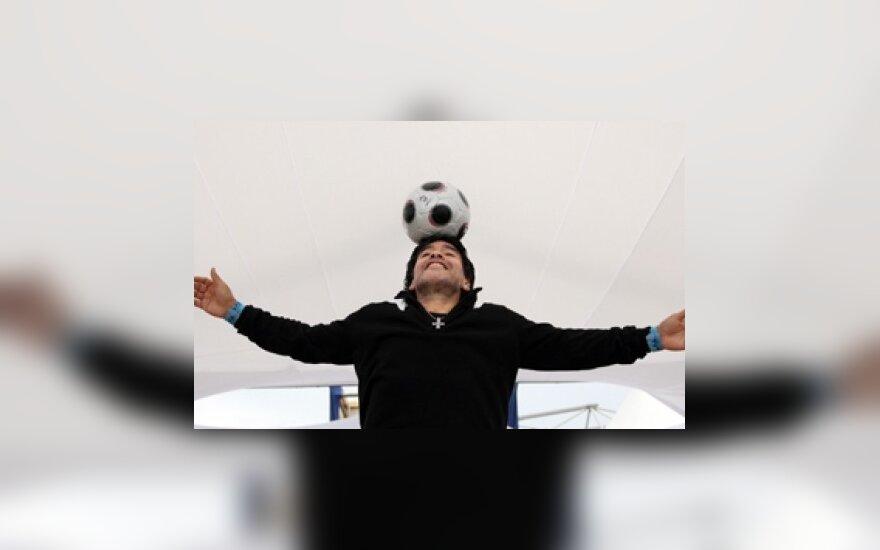 Диего Марадона исчез