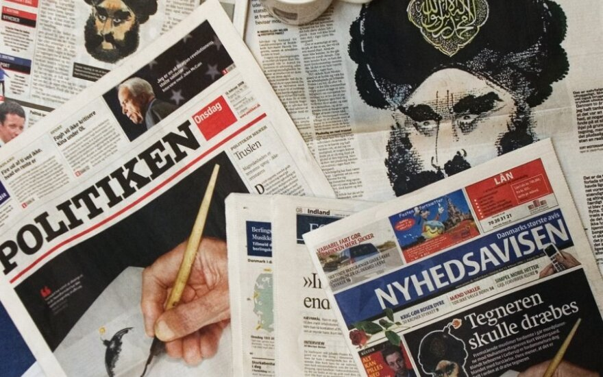 Mahometo karikatūros Danijos laikraščiuose