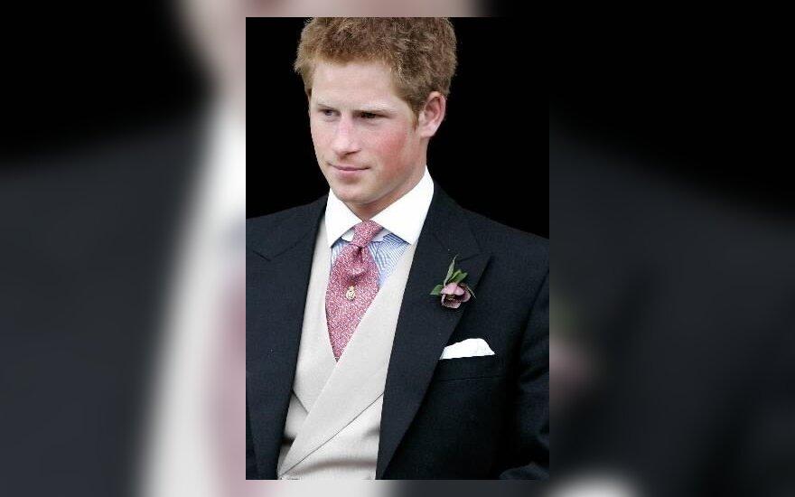 Принц Гарри упал с лошади