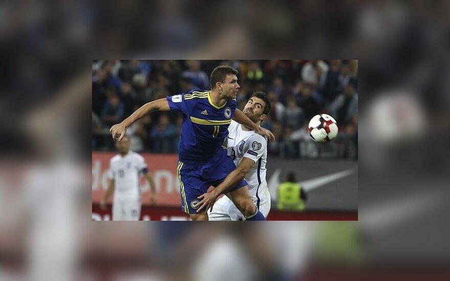 Боснийский форвард во время матча стянул трусы с соперника