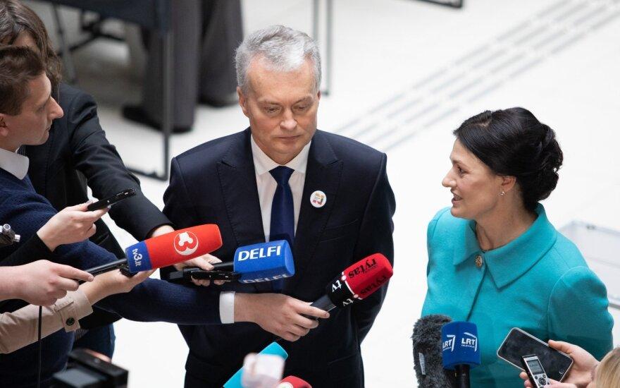Науседа говорит, что поменял бы риторику в отношении России