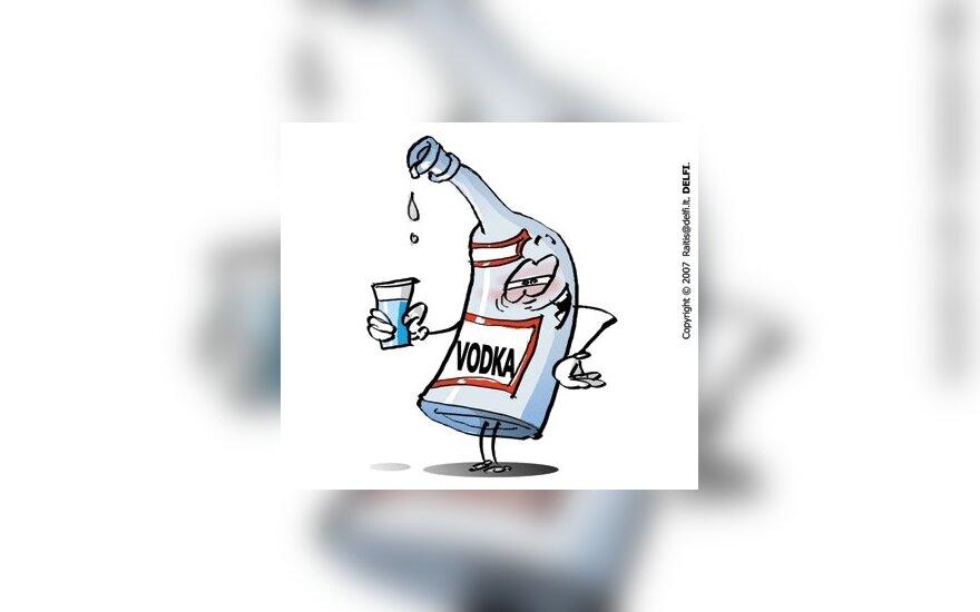 С 1 июля в России повышается минимальная цена на водку