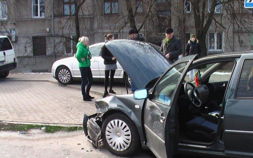 После экзамена студентки попали в аварию