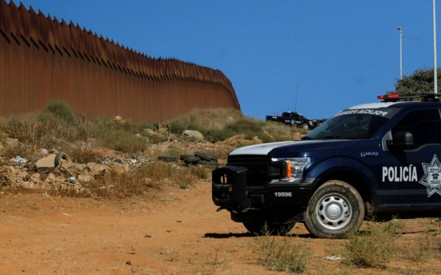JAV-Meksikos pasienis