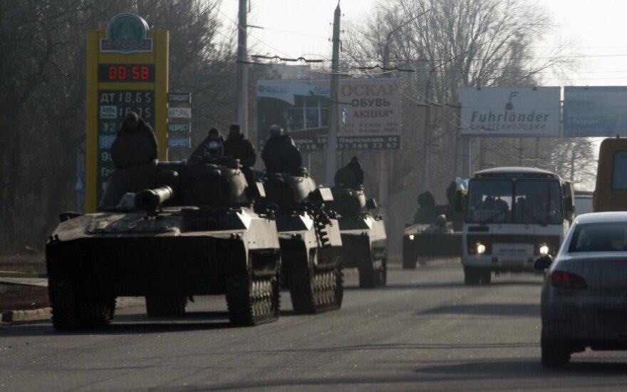 ОБСЕ фиксирует обстрелы из центра Донецка и спад оживления на границе