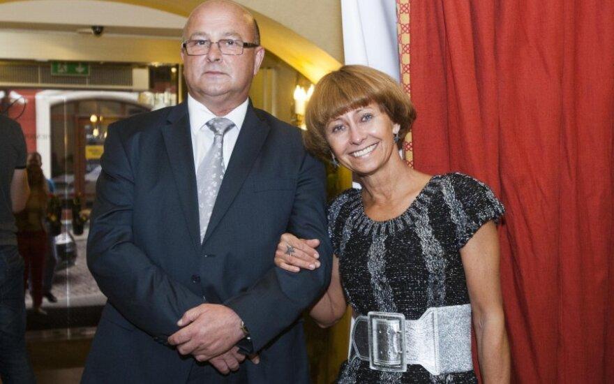 Visvaldas Matijošaitis ir Irena Matijošaitienė