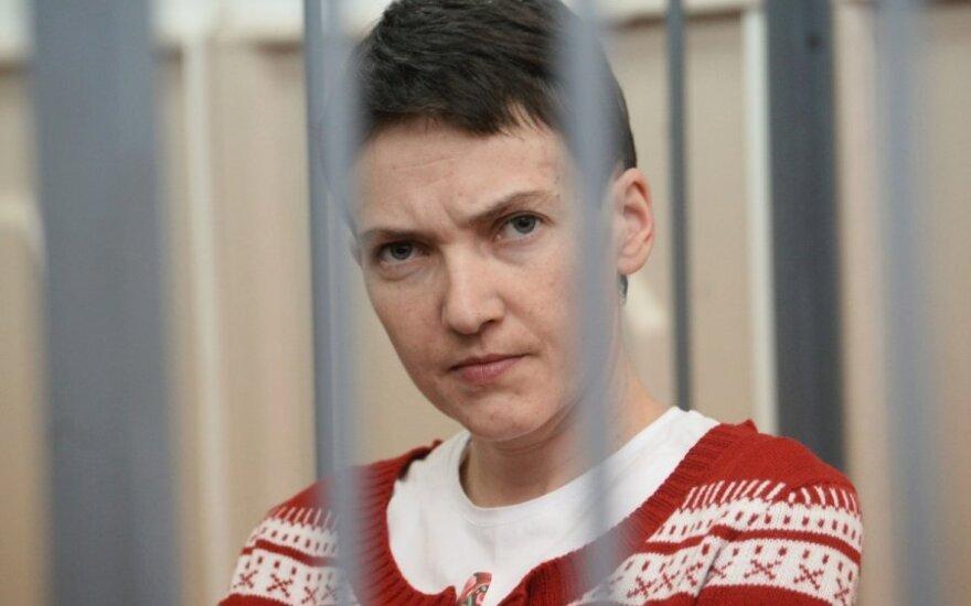 В России возобновляются слушания по делу Савченко