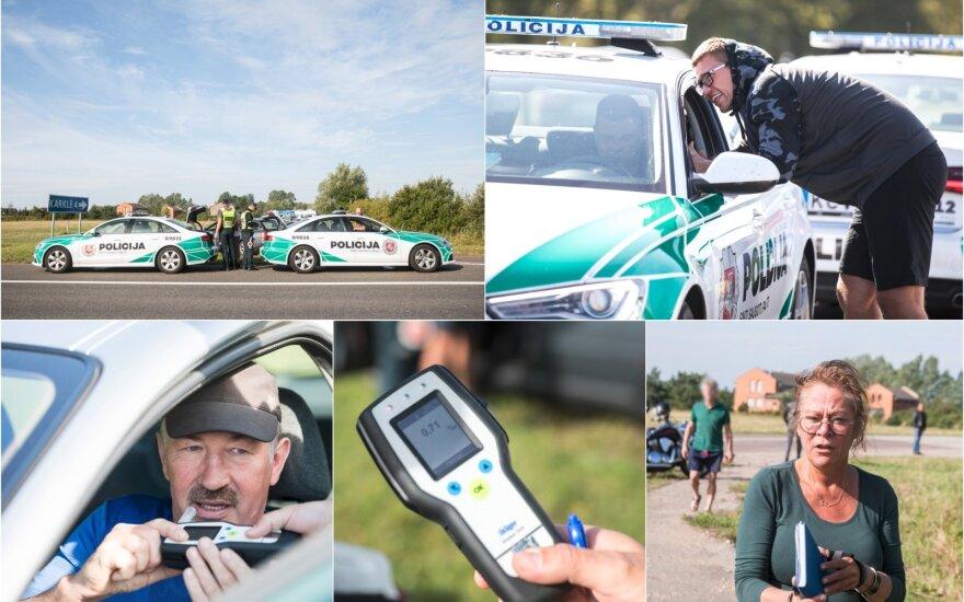 Страшные цифры: за полдня у Клайпеды задержано 29 нетрезвых водителей