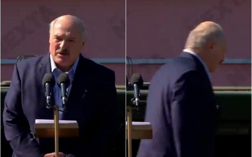 Aliaksandras Lukašenka, NEXTA stopkadrai