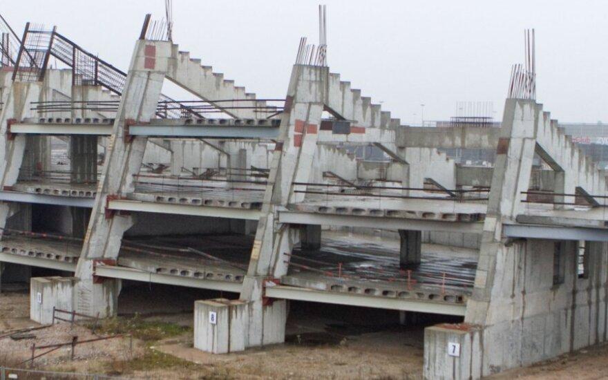 Вильнюсские власти планируют оживить строительство Национального стадиона