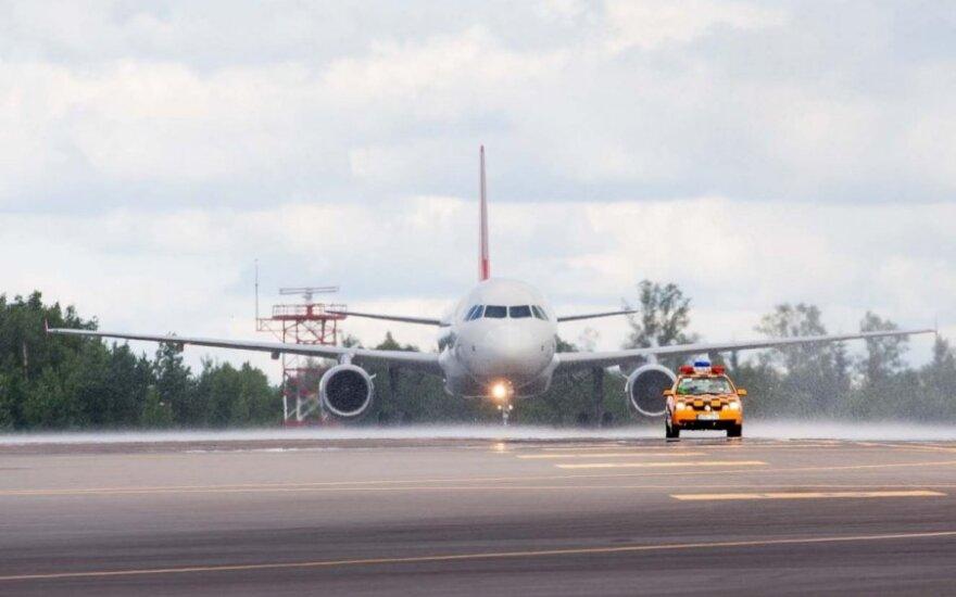 Конфликт в Украине подкорректировал карту полётов из Вильнюса