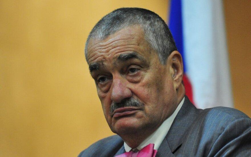 Čekijos užsienio reikalų ministras Karelas Schwarzenbergas