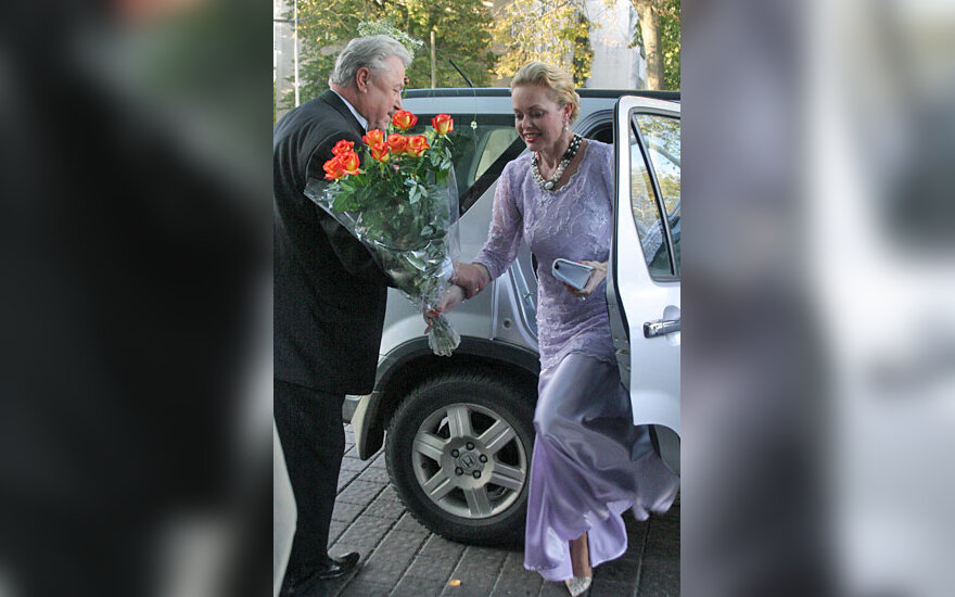 Virgilijus Noreika su žmona Loreta