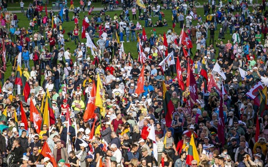 """В парке Вингис прошли мероприятия """"Большого марша в защиту семей"""""""