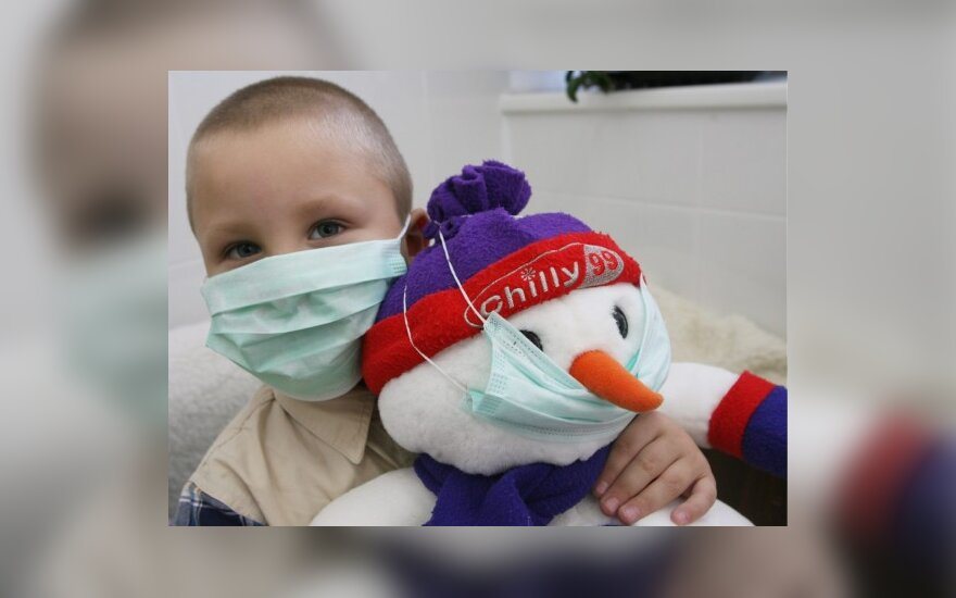 В Литве установлен первый случай заболевания свиным гриппом