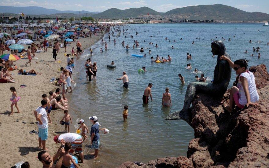 В этом году в Турции отдыхали 190 000 жителей Литвы