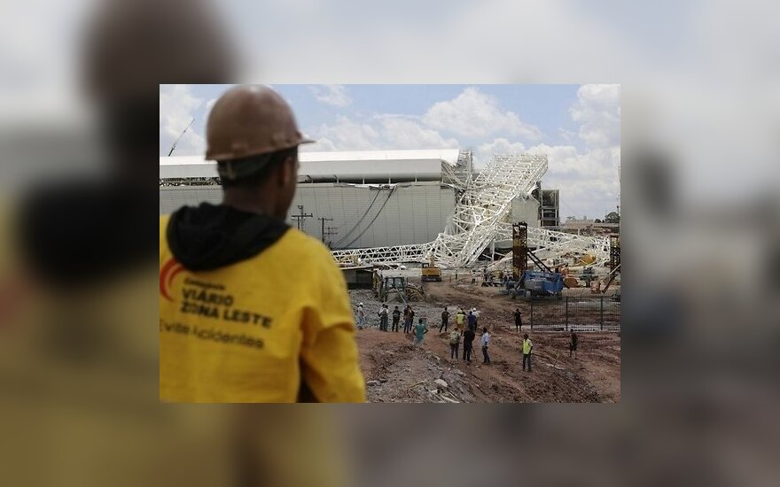 В Бразилии во время строительства стадиона погибли три человека