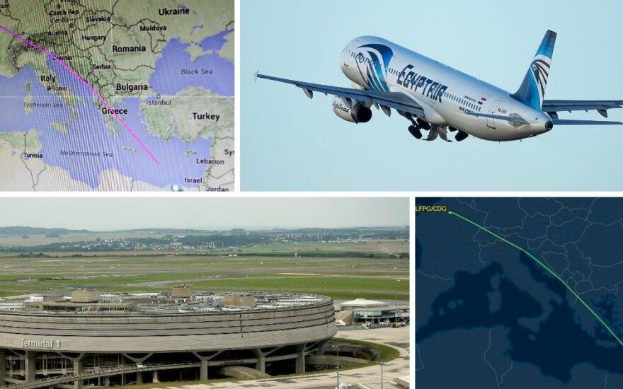 Перед исчезновением самолет EgyptAir делал крутые виражи