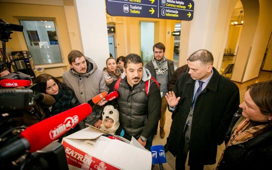 Pierwsi uchodźcy na Litwie już skarżą w sądzie