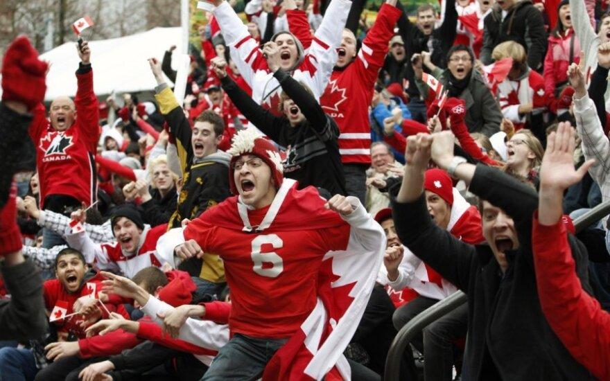 Paskutinį medalį Kanados aistruoliams padovanojo ledo ritulininkai.