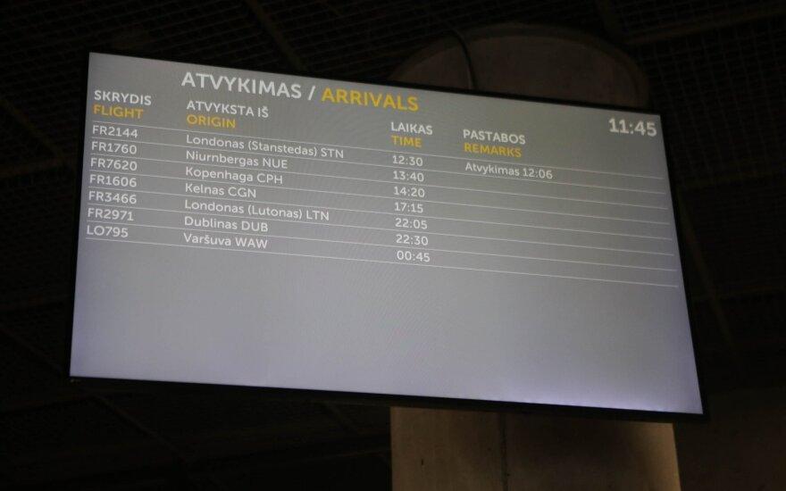 Каунасский аэропорт сообщает о первых регулярных рейсах