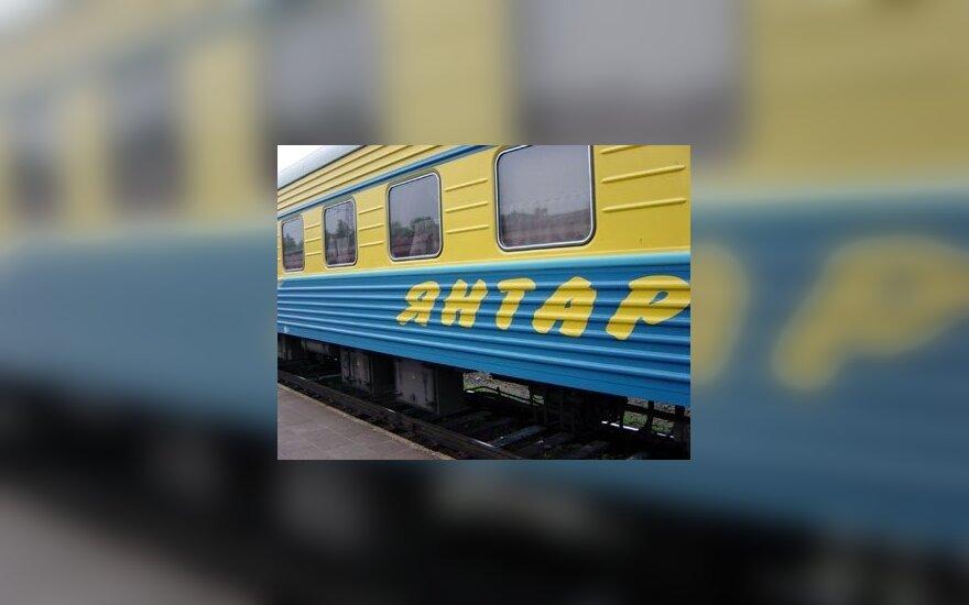 Traukinys Maskva-Kaliningradas
