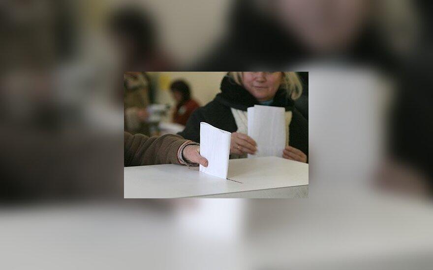 Rinkimai, balsavimas