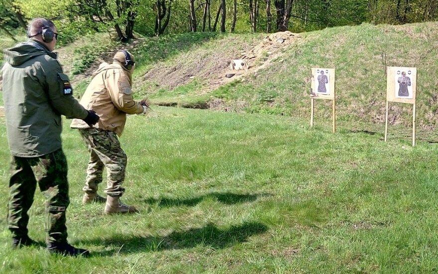Литовские инструкторы провели во Львове курс для украинского спецназа