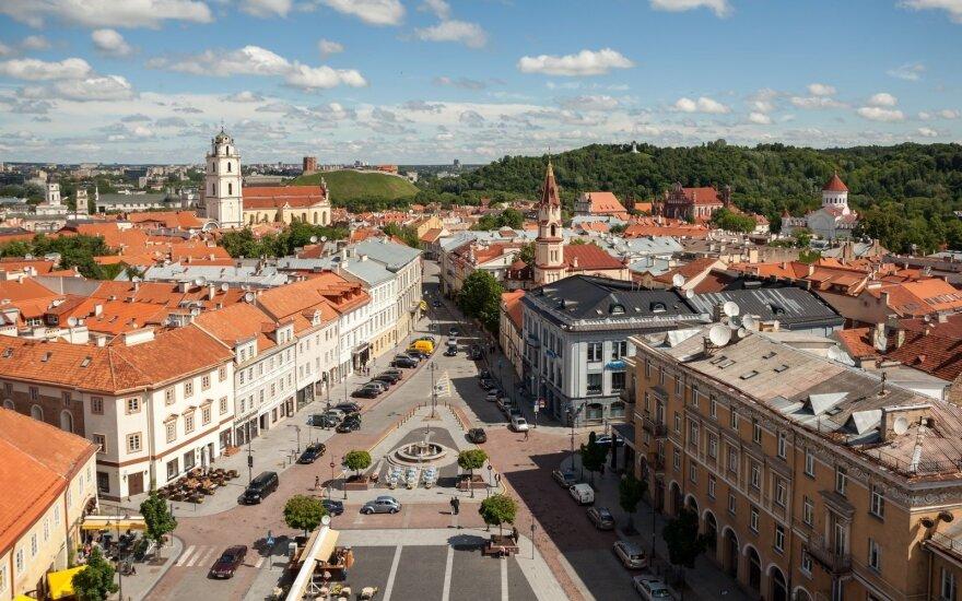 Весной россияне активно посещают Вильнюс