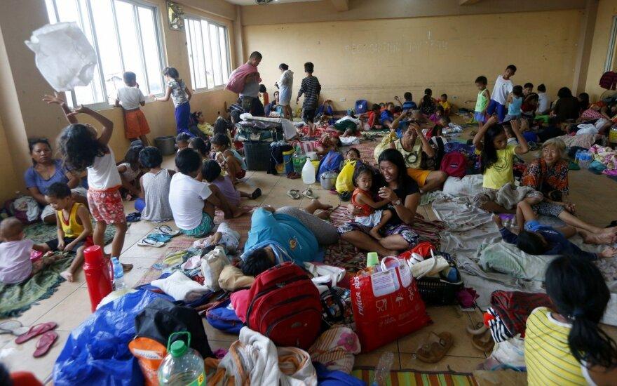 Nukentėjusieji nuo Mangkhut taifūno