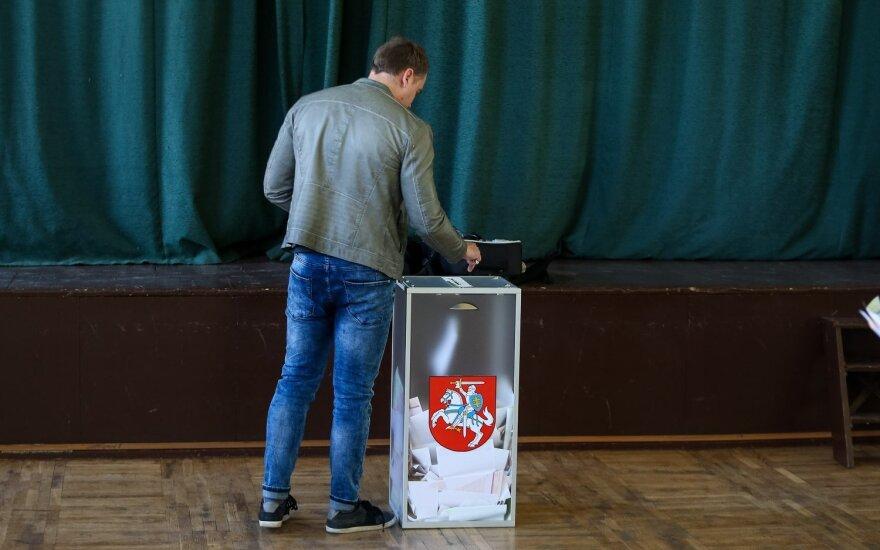 На выборах в трёх округах в Литве проголосовали почти 20% избирателей