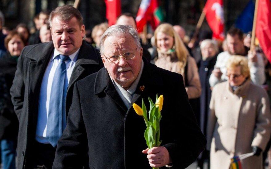 Vytautas Landsbergis wygłosił ostatnie przemówienie w Parlamencie Europy